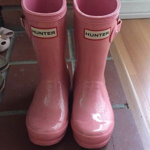 Girls hunter boot